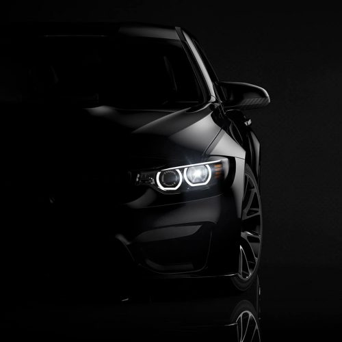 Black-car-right-background